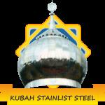 kubah stainlist steel sinarsuryaabadi